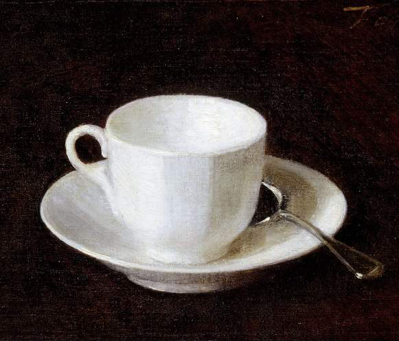 Elegy in a Cup and Saucer - Ali Smith