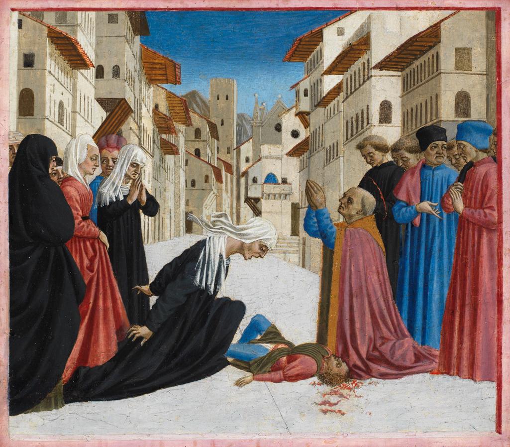 A Miracle of Saint Zenobius: Domenico Veneziano