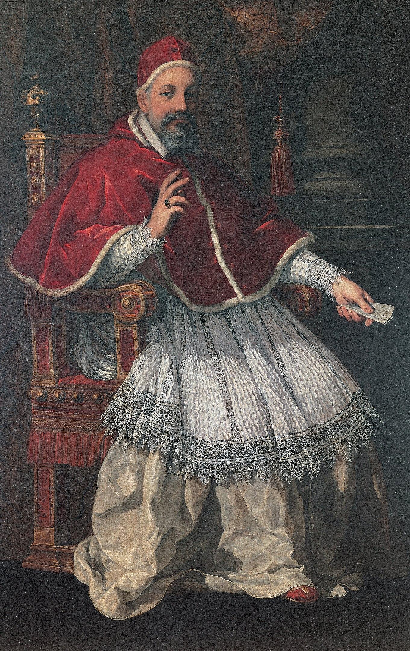 Pietro da Cortona - Portrait of Urban VIII (ca. 1624-1627) - Google Art Project