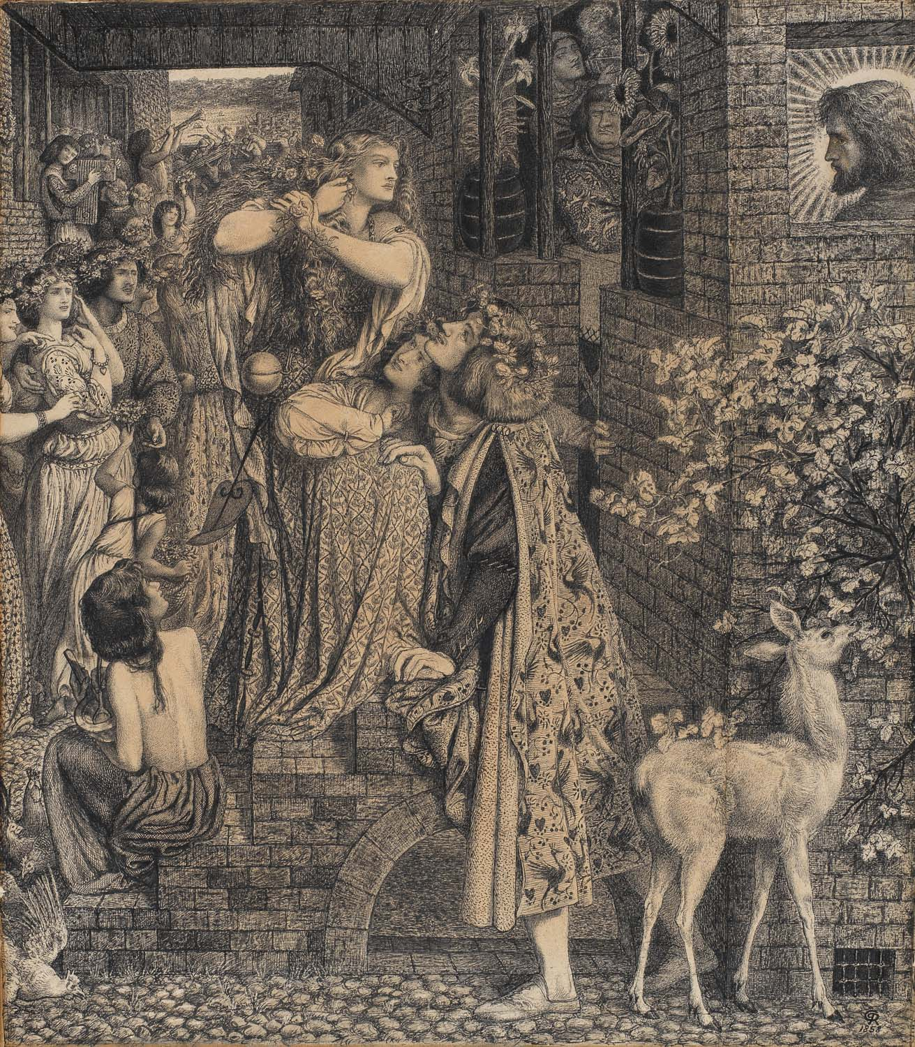 Rossetti's depiction of Mary Magdalene