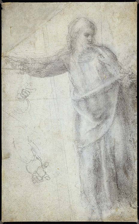 Study for figure of Christ, c.1550.