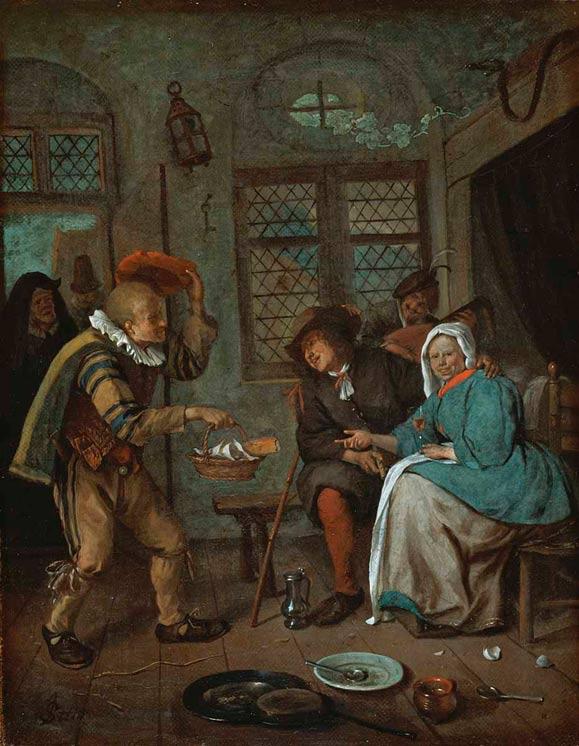 The Old Pancake Seller