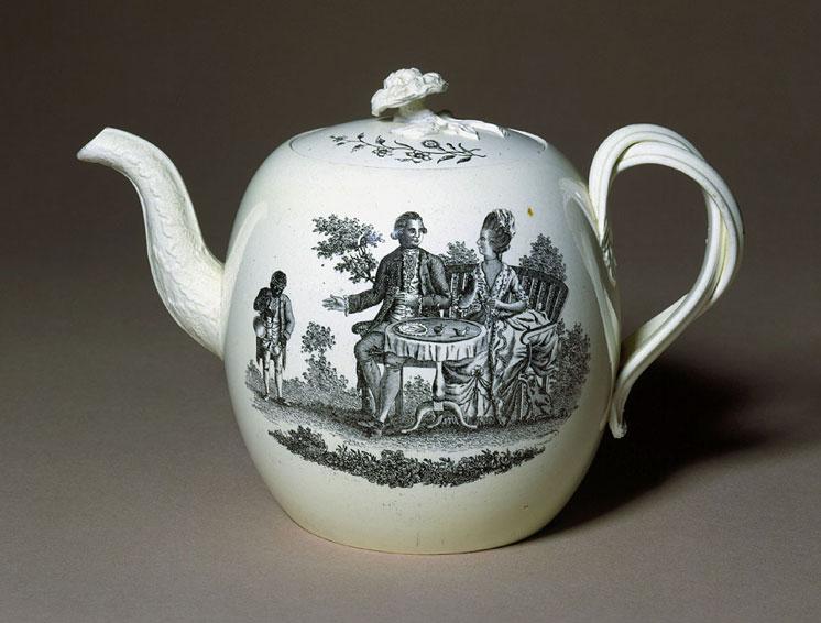 Teapot, c.1775 - 1780