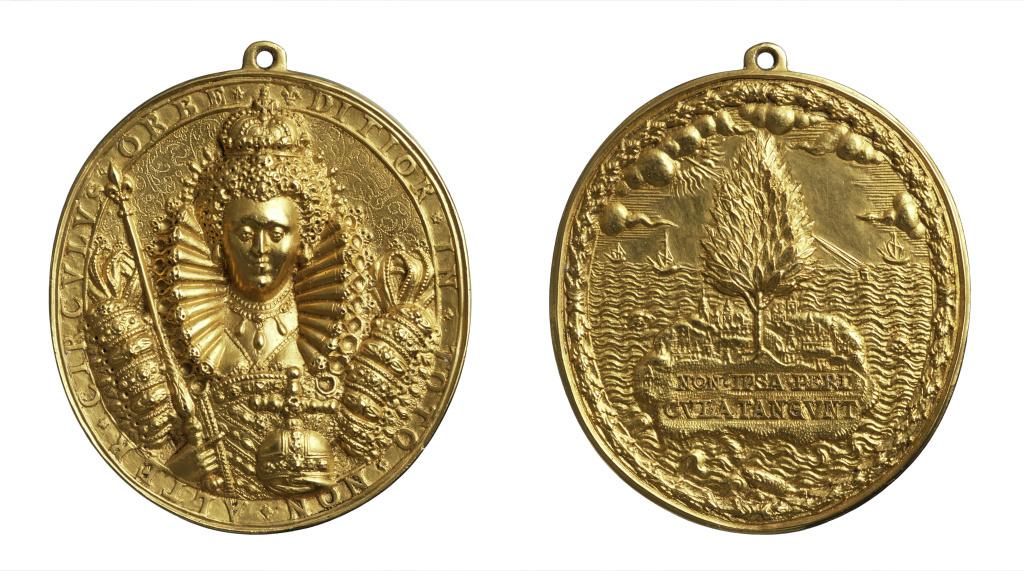 'Dangers Averted' gold medal
