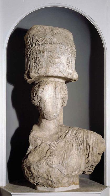 A Greek Caryatid from Attica