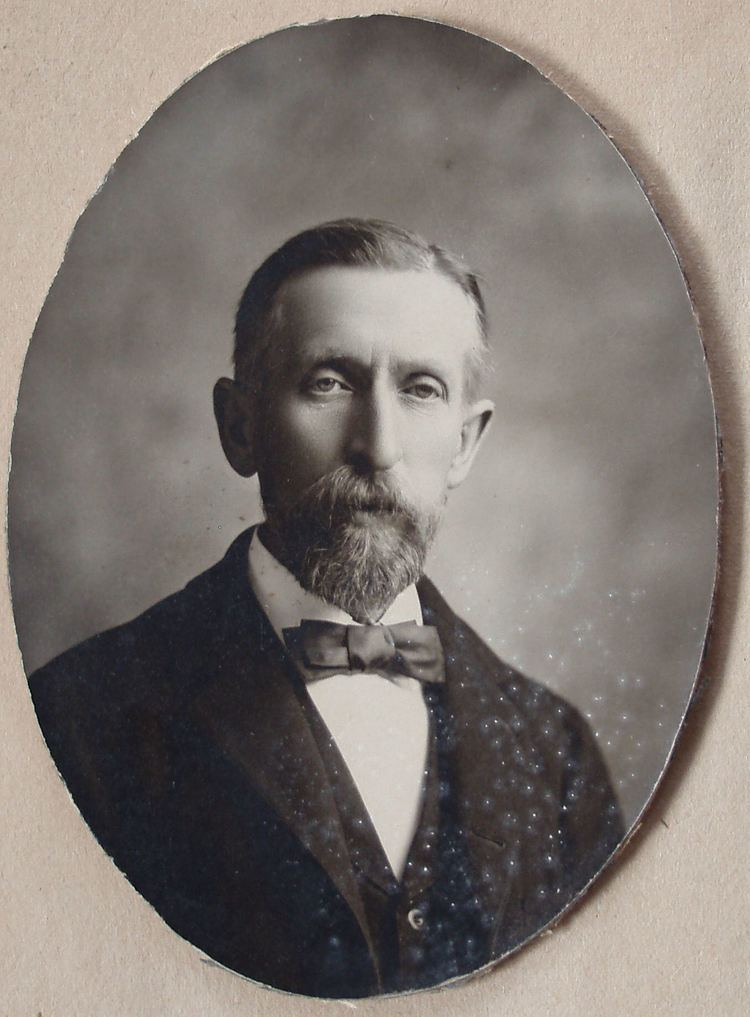 A portrait photo of James Quibell