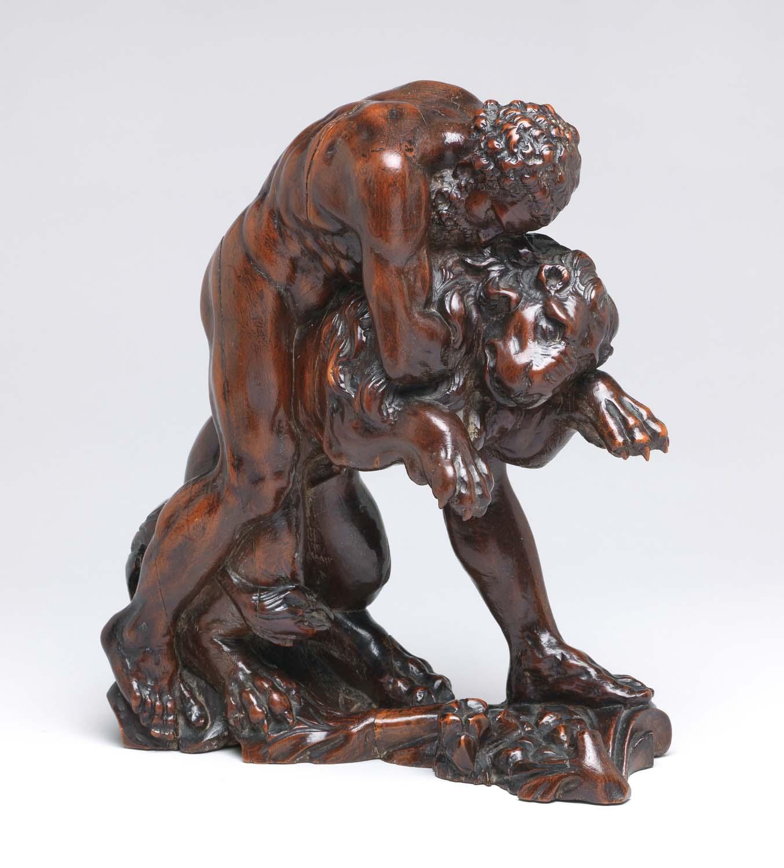M.47 1997 A sculpture of Hercules wrestling the Nemean lion