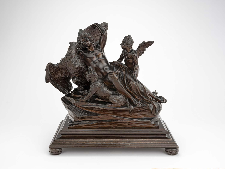 The abduction of Ganymede by Giovanni Battista Foggini