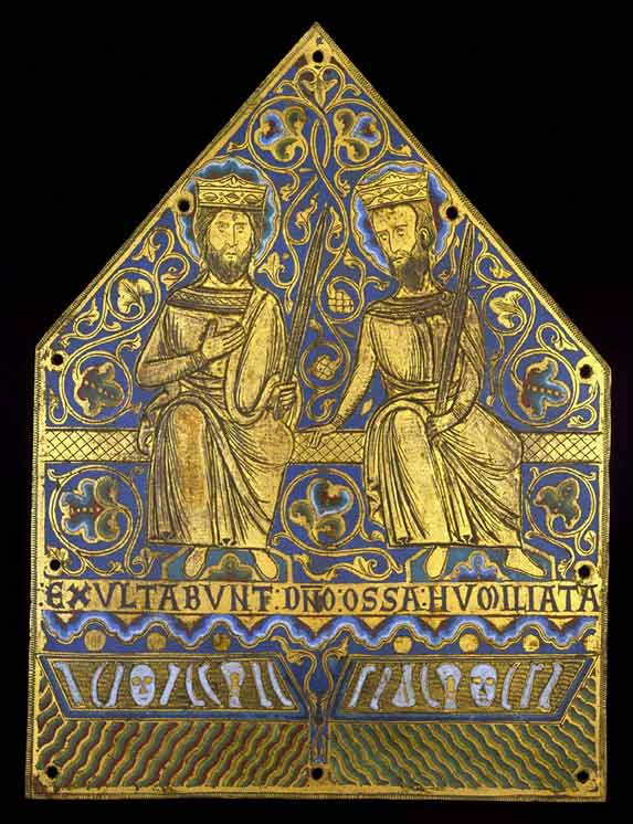 Plaque from a reliquary