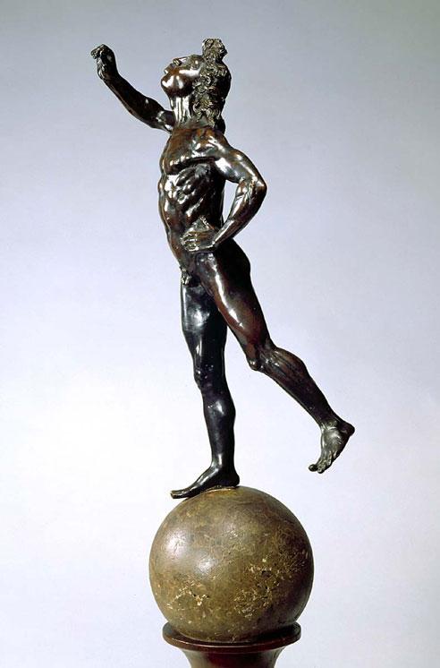 A figure of Mercury