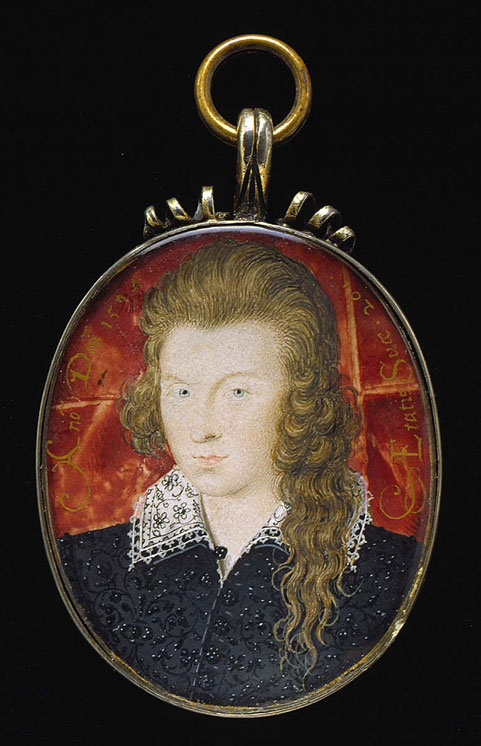 Henry Wriothesley, third earl of Southampton, 1594