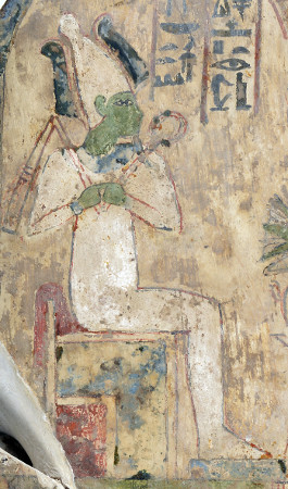 A depiction of Osiris