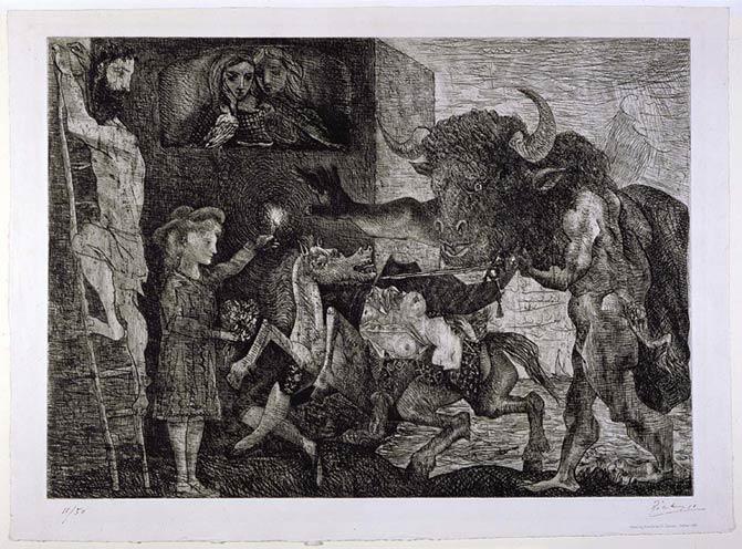 Minotauromachia by Picasso
