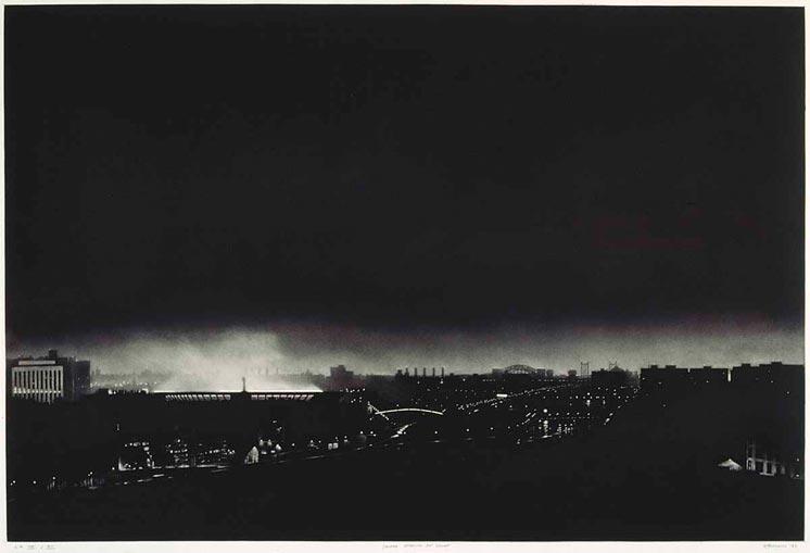 Yankee Stadium at Night, 1983