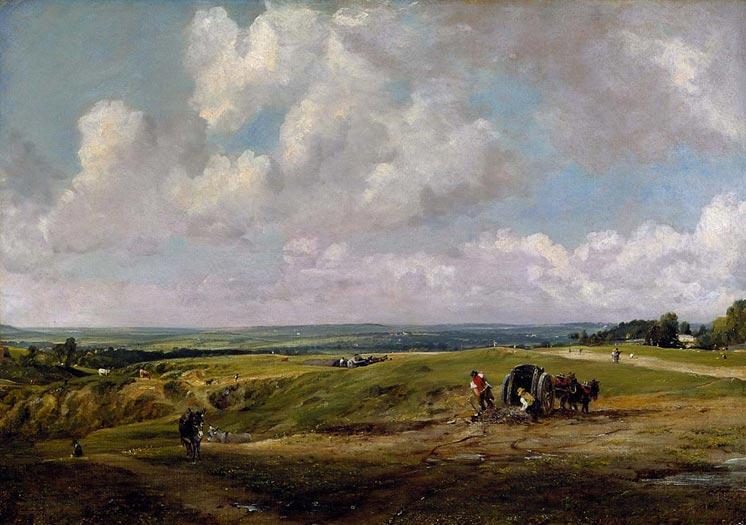 Hampstead Heath,  c. 1820
