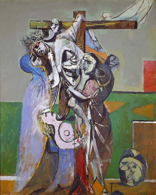 The descent from the cross by Graham Sutherland