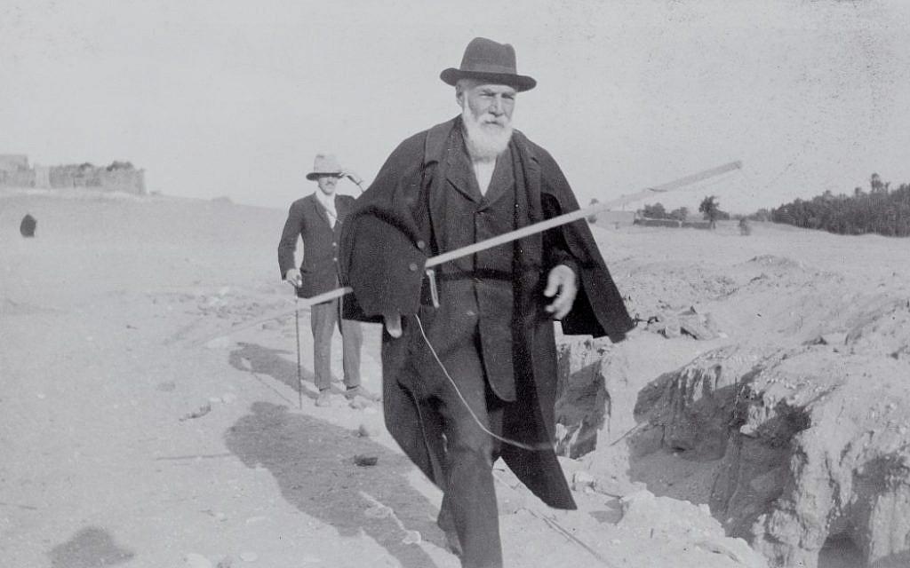 Flinders Petrie at Abydos
