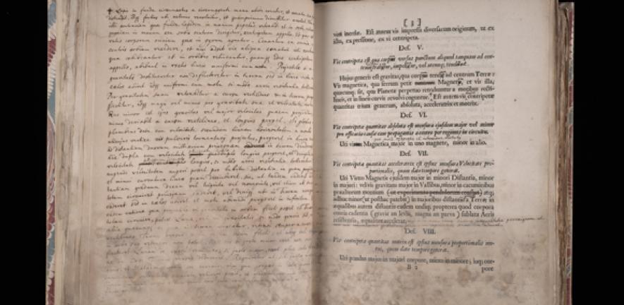 Newton's notes