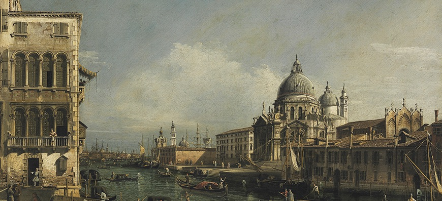 Canelleto View of Venice