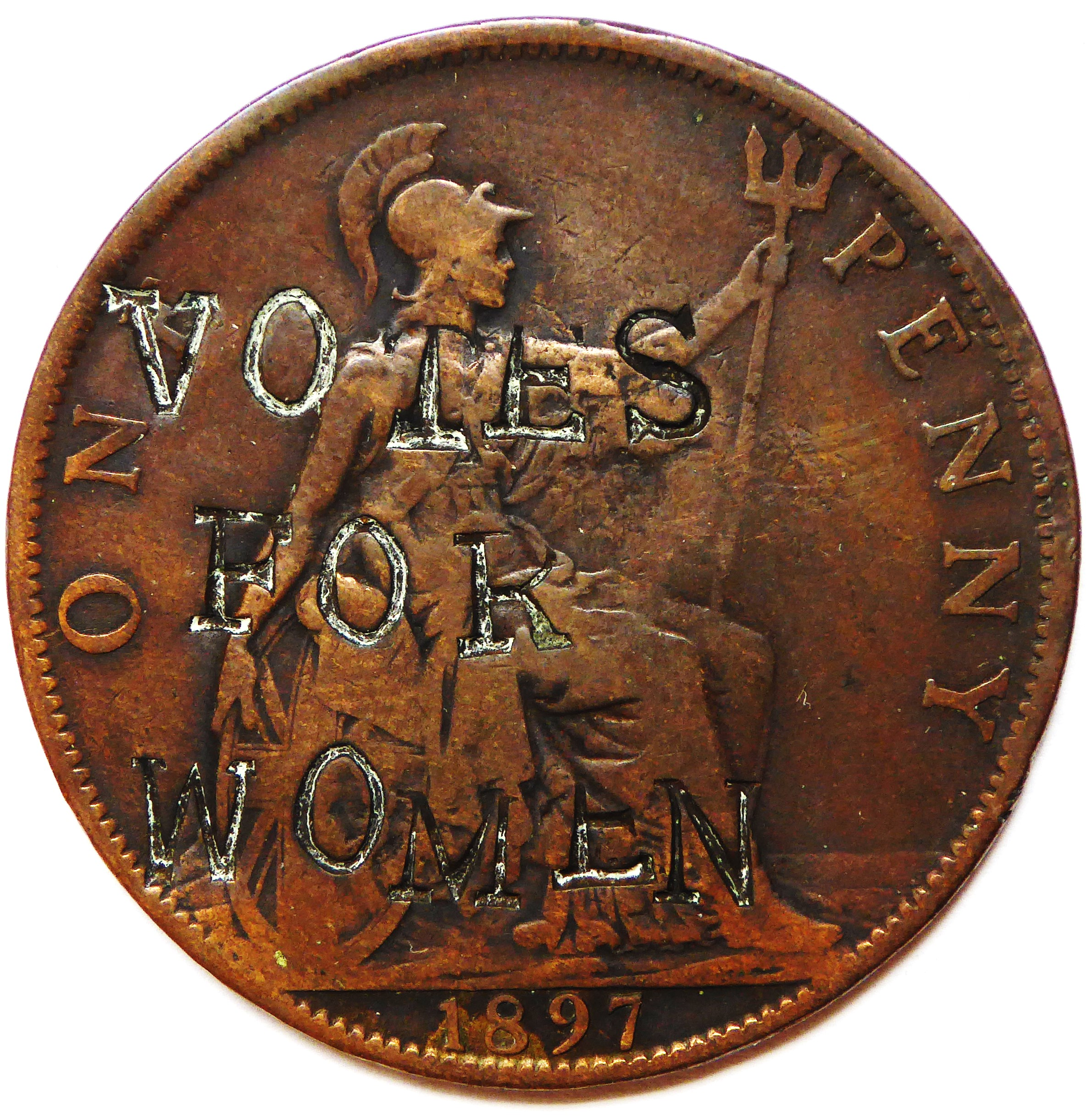 """""""Votes For Women"""" Coin"""